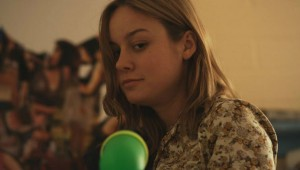 "Brie Larson uses a Super Soaker to keep order at ""Short Term 12."""