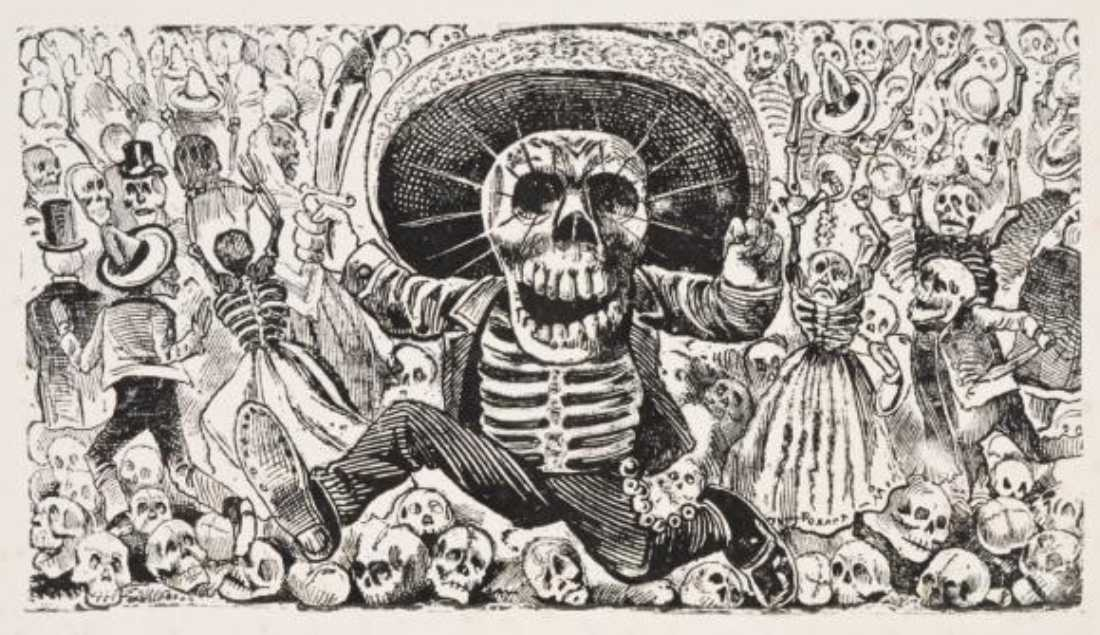 ¡Hombre! Prints by José Guadalupe Posada runs thru April 6 at Amon Carter.