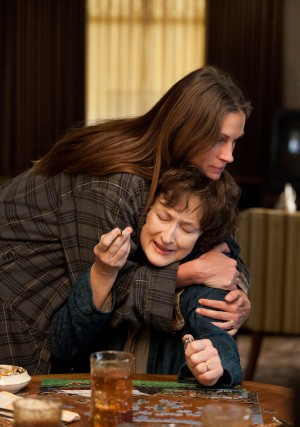 Julia Roberts and Meryl Streep in August: Osage County at LSFF.