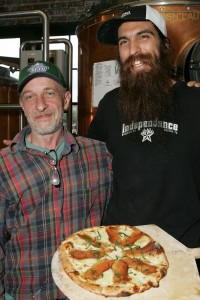 Partners Carlo Galotto (left) and Adam Gonzales will keep you well fed.