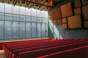 The concert hall will be illuminated by a well of natural light. Robert Polidori/Courtesy of the Kimbell Art Museum