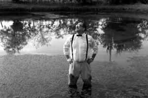 """Sale, in the farm pond: """"I see it in my head as a movie."""" Dylan Hollingsworth"""