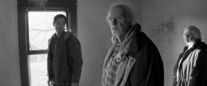 "Will Forte, Bruce Dern, and June Squibb revisit old haunts in ""Nebraska."""