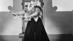 Carmen Miranda is the subject of Artes de la Rosa's new show.