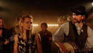 Veerle Baetens and Johan Heldenbergh sing country music in The Broken Circle Breakdown.