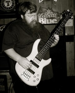 Atkins magnified his massive bass assault with a solemn, intimidating presence. Courtesy Photo