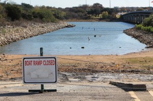 A Brazos River Authority official said the damage done to Granbury's lakeside economy pales in comparison to the threat of a whole river basin running out of drinking water.