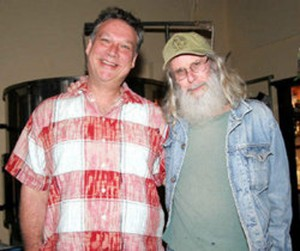 Doug Balentine and Simons (shown not long before Balentine's death) produced decades of creative shows and music. Courtesy Hip Pocket Theatre