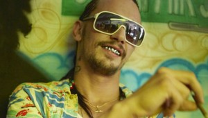 "James Franco in ""Spring Breakers."""