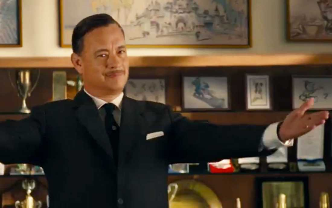 Tom Hanks stars as Walt Disney in