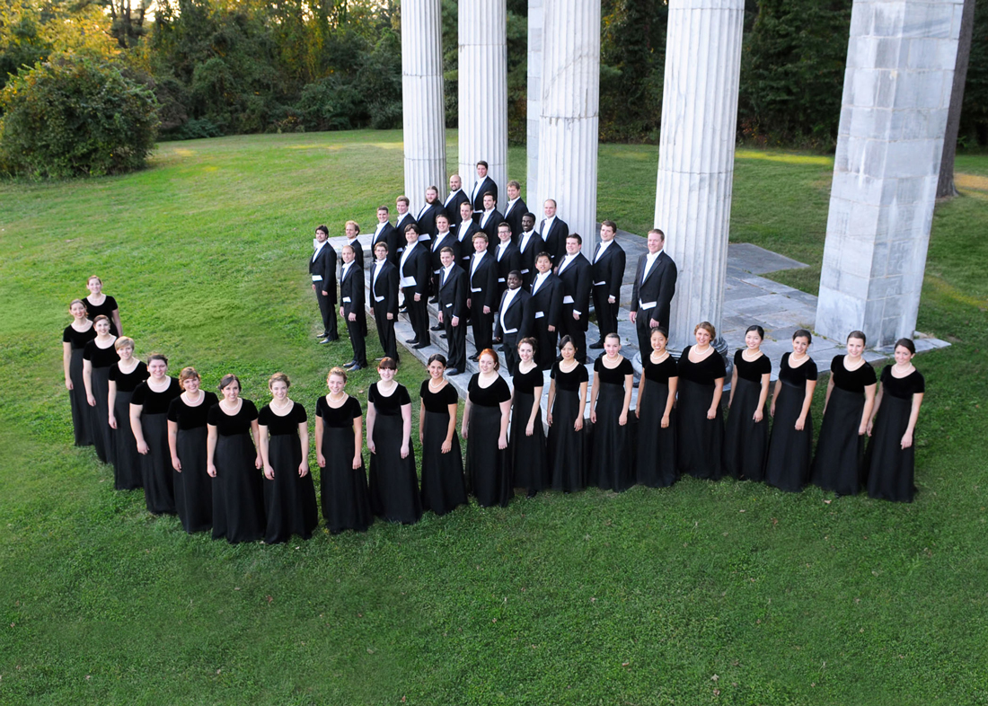 The Westminster Choir performs at Arborlawn, Sun.