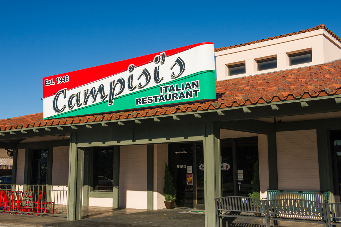 Campisi's Fort Worth location is in the heart of the West Side. Brian Hutson