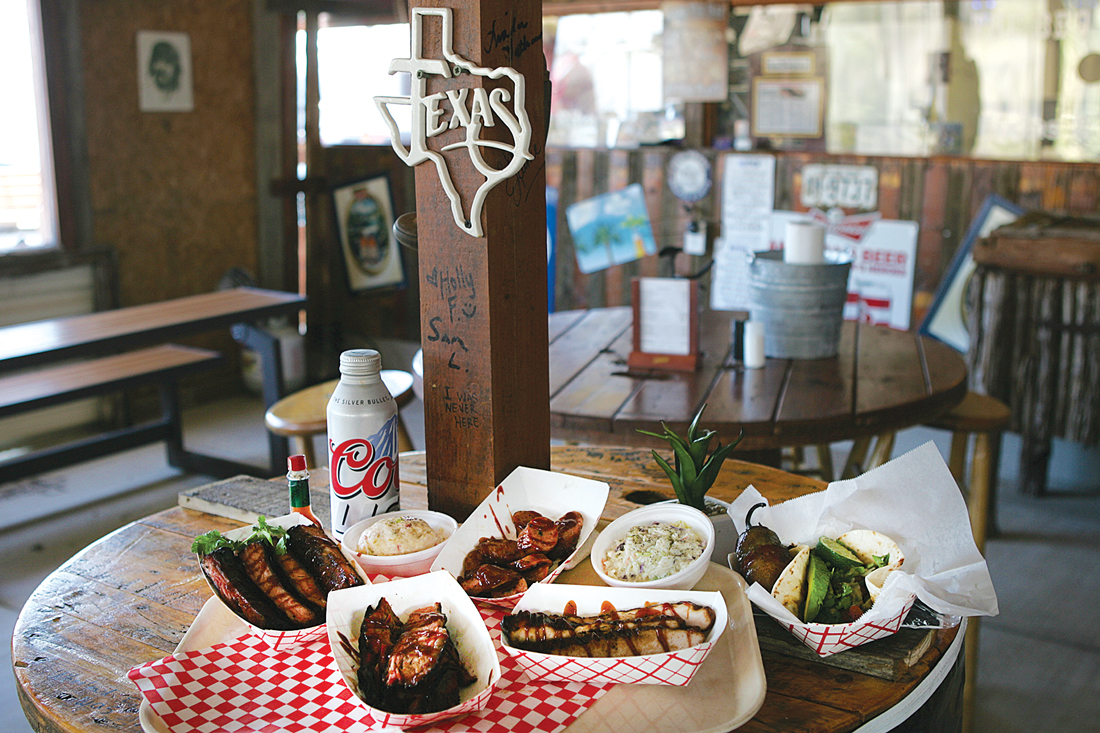 Good eats await at The BBQ Ranch. Lee Chastain
