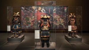 The Kimbell's Japanese art is a backdrop for suits in Samurai.