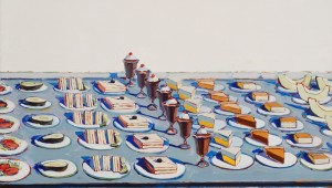 "Wayne Thiebaud's ""Salads, Sandwiches, and Dessert"" at Amon Carter's Art and Appetite."