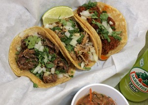 Tina's tasty tacos are only $1.99 a pop. Lee Chastain