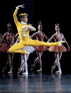 """Kurt Froman in Jerome Robbins' """"Fanfare"""" at New York CIty Ballet: """"The more I saw of ... big-city dancers, the more I appreciate[d] my training."""" Paul Kolnik"""