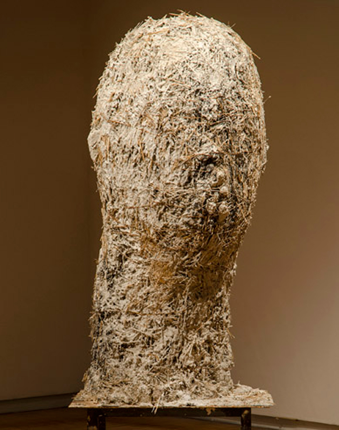 "James Sullivan's ""Head With Rocks in Mouth"""