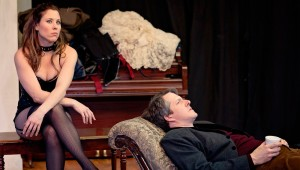 Allison Pistorius and Chris Hury battle for psychosexual supremacy in Circle's Venus in Fur.