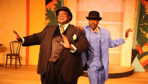 Major Attaway and Cedric Neal star in Jubilee Theatre's Ain't Misbehavin'.