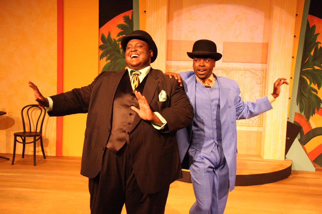 Major Attaway and Cedric Neal star in Jubilee Theatre's Ain't Misbehavin'.