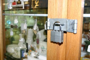 Some dealers add an extra lock or two for security reasons.