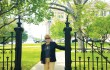 Dorothy Luck visited the Texas Capitol last year to talk to legislators about guardianship abuses. Courtesy Latifa Ring