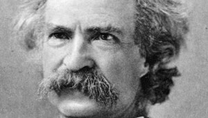 MARK TWAIN WON'T BE ATTENDING THE WILDCATTER EXCHANGE BUT HIS SPIRIT WILL.