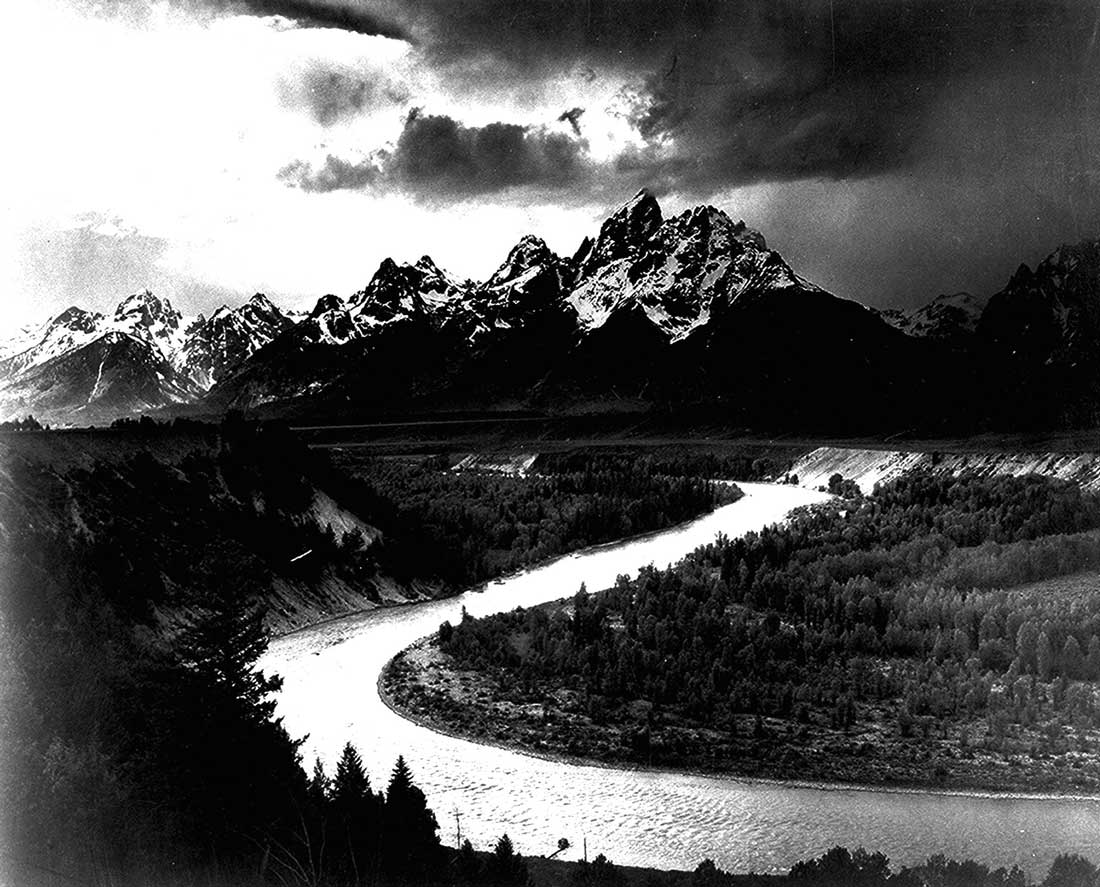 "Ansel Adams' ""The Tetons - Snake River"" is part of the new show at AMA."