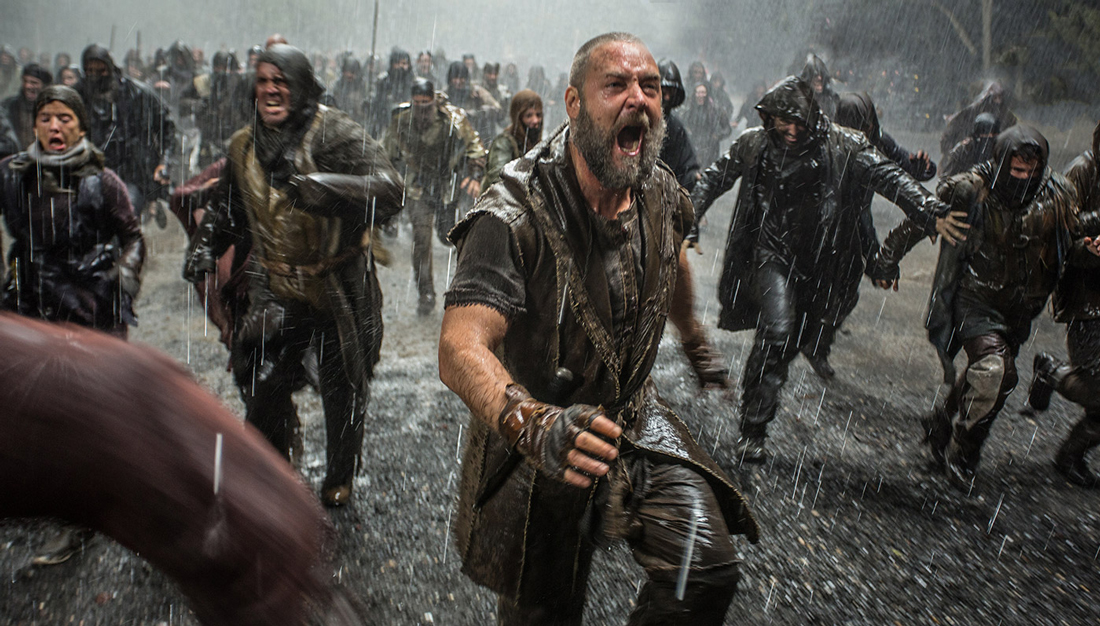 Russell Crowe plays Noah as a B.C. eco-terrorist.