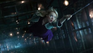 Mother of mercy, is this the end of Gwen Stacy? Emma Stone hangs by a thread in The Amazing Spider-Man 2.