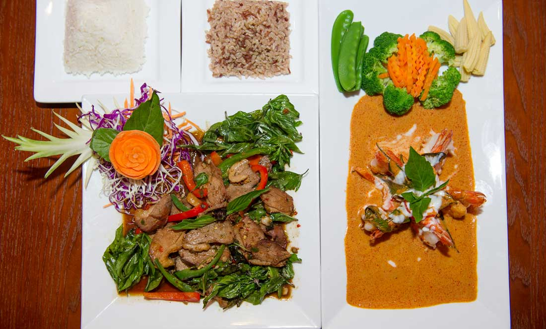 The presentation is as beautiful as the flavors at Spice. Brian Hutson