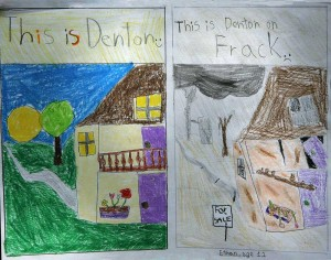 "Ethan Soha drew ""before"" and ""after"" pictures to show his anxiety over a nearby gas well."