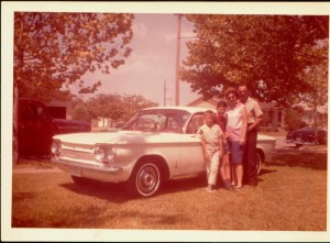 Rodney, Danny Jr., a pregnant Ema, and Dan Sr. pose for a family photo in 1963. Courtesy Ema's Enterprises