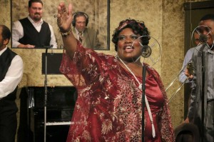 Like the real-life Ma Rainey, Valerie Houston's character is a diva of the first order.