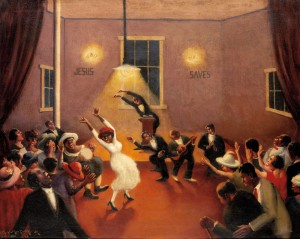 "Archibald Motley's ""Tongues (Holy Rollers)"" at the Amon Carter."