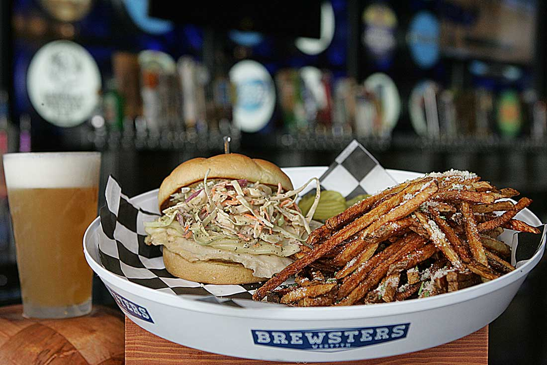The BBQ Slaw Chicken Sandwich packs a nice kick.