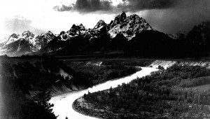 "Ansel Adams' ""The Tetons –– Snake River"" is one of the best of the best."
