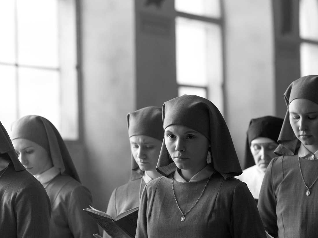 Agata Trzebuchowska ponders her future in the Catholic Church in Ida. See Friday.
