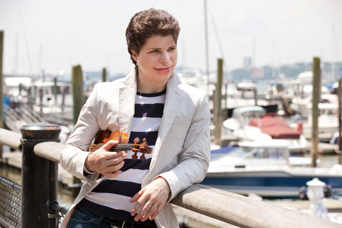 Augustin Hadelich plays with FWSO, Fri & Sun.