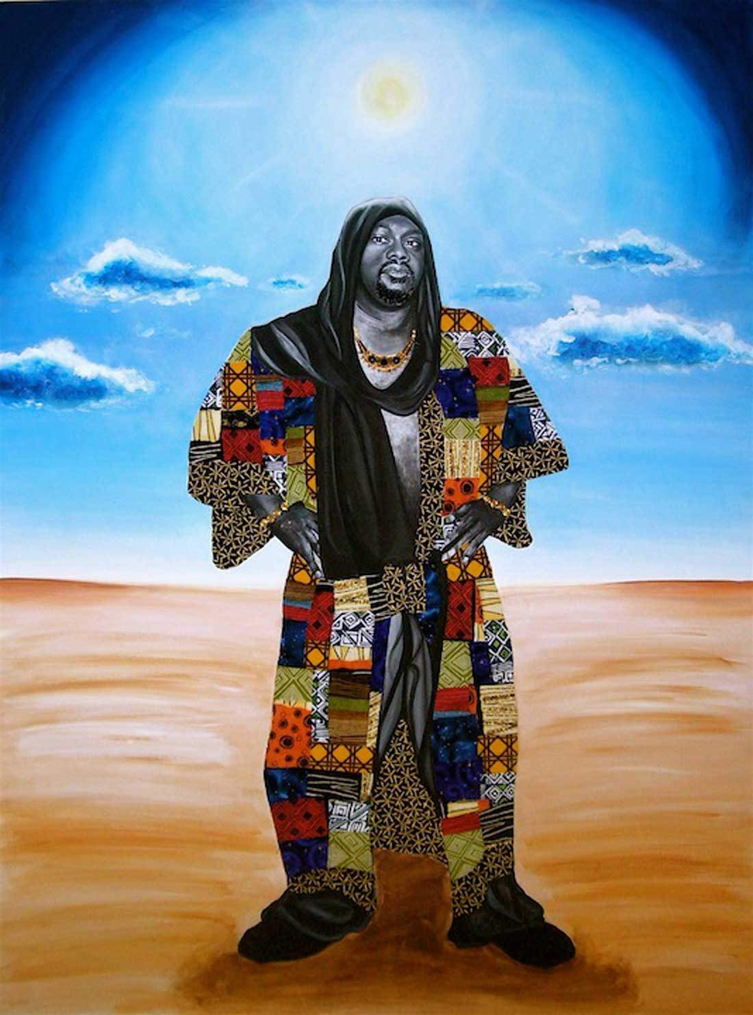 """Sanah Brown's """"the coat of many colors"""""""