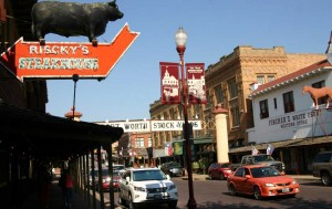 The Stockyards certainly saw its share of discreet gambling back in the day, but no casinos. Jeff Prince