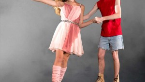Reagan Shankland and Matt Courtney find love on wheels in Artisan Center Theater's Xanadu Jr. See Monday.
