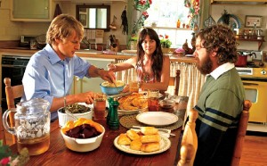"""""""Are You Here"""" staring Owen Wilson, Laura Ramsey, Zach Galifianakis opens Friday."""