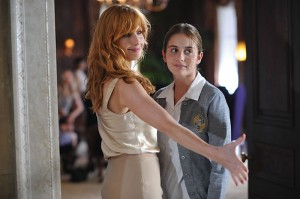 Kelly Reilly welcomes Sophie Curtis into her new school in Innocence.