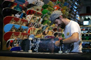 Gear to threads, newbie to expert, Index has put its name all over skateboarding in the 817.  Lee Chastain