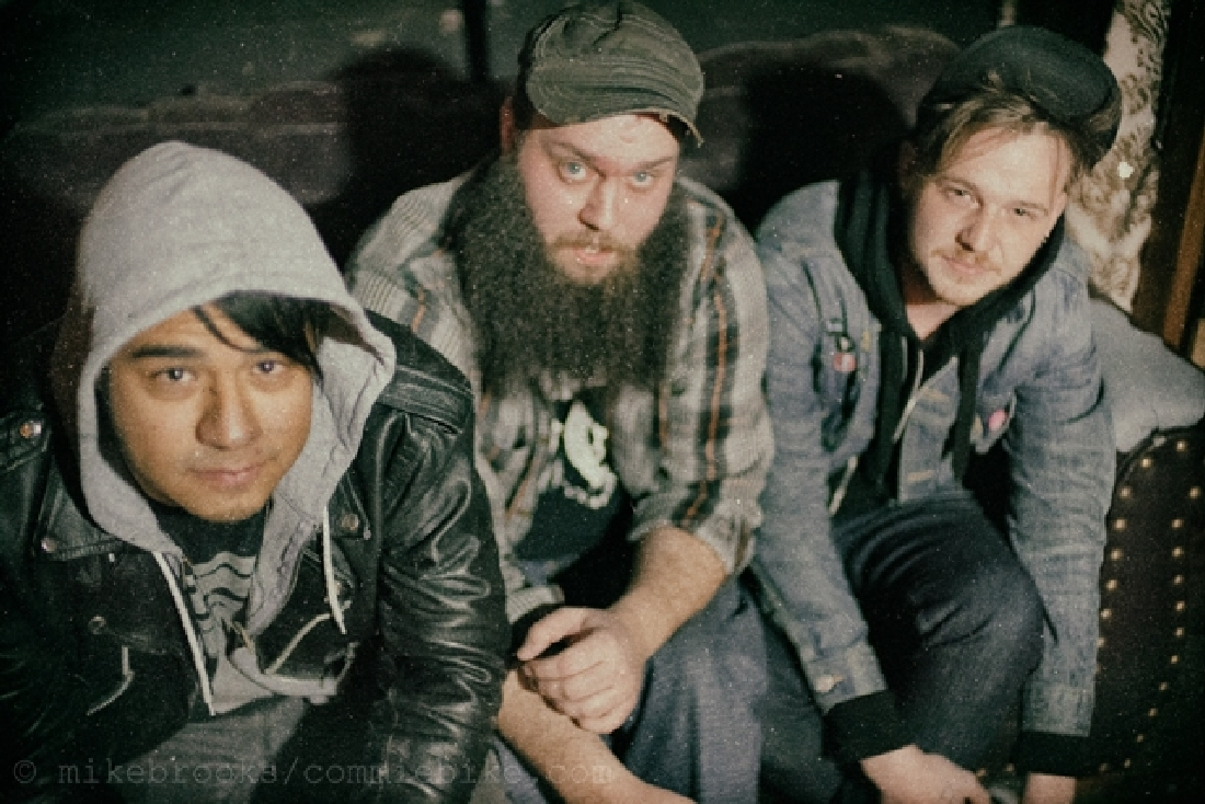 (From left to right) drummer Trey Alfaro, bassist Forrest Barton, and frontman Josh Fleming have finally come into their own.