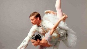 Leticia Oliveira and Carl Coomer in Texas Ballet Theater's Sleeping Beauty.