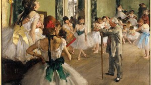"Edgar Degas' ""Dance Class"" is part of the Kimbell's Faces of Impressionism exhibit. See Sunday."