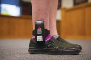 Ankle monitors like this are being used on some Texas truants.